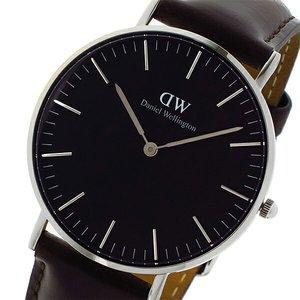 春早割 ダニエル ウェリントン クラシック ブラック ブリストル/シルバー 36mm ユニセックス 腕時計 時計 DW00100143, もりもり健康堂 51dffa3c