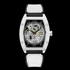 独特な アルカフトゥーラ ARCA FUTURA 自動巻き メンズ 腕時計 時計 スケルトン 978CWH ホワイト, Bun!Bo!グ! 7c552ee8