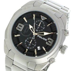 【特別セール品】 ポリス POLICE クロノ クオーツ メンズ 腕時計 時計 PL-14141JS-02M ブラック, Grande shop 1a2a9c1a