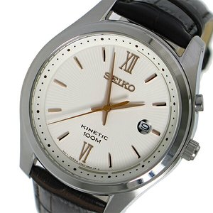 ずっと気になってた セイコー SEIKO キネティック クオーツ メンズ 腕時計 SEIKO セイコー 時計 時計 SKA773P1 ホワイト【ラッピング無料】, クリモトマチ:87451789 --- pyme.pe