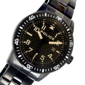 【予約受付中】 ポリス POLICE クオーツ メンズ 腕時計 時計 PL13754JSB-02M ブラック, レース工房 ルジャンタン 2730a47b