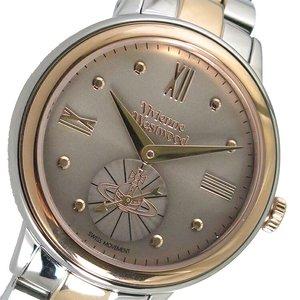 一番の ヴィヴィアンウエストウッド Vivienne Westwood クオーツ レディース 腕時計 時計 VV158GYTT ブラウン, ホロノベチョウ 7dd195b2