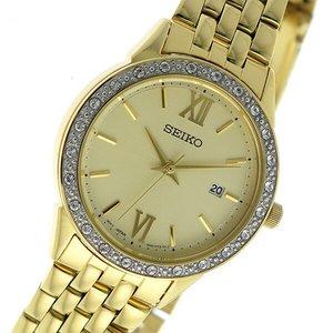 経典ブランド セイコー SEIKO クオーツ レディース 腕時計 時計 SUR688P1 ゴールド, 【日本限定モデル】 b92a471f