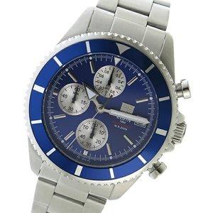 有名なブランド エルジン ELGIN クロノ クオーツ メンズ 腕時計 時計 FK1418S-BL ブルー, 京瑞庵 db5795eb