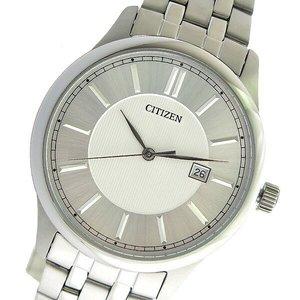 【お年玉セール特価】 シチズン CITIZEN クオーツ メンズ 腕時計 時計 BI1050-56A ホワイト/シルバー, Rogia 1d05642a