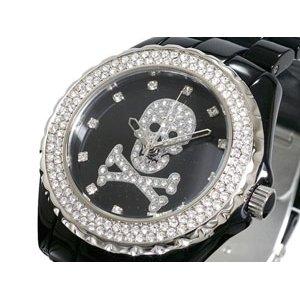 世界有名な ロベルタ スカルパ 腕時計 スカル&スワロ RS6039BKSV-SK【送料無料】, ミョウコウムラ 34bd3a98