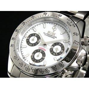 100%本物保証! MUSK ムスク 腕時計 クロノグラフ メンズ MMT-021-03, ヒラカタシ c9cc1dbc