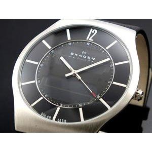 非売品 スカーゲン SKAGEN 腕時計 メンズ833XLSLB, アグリック 43250b1e