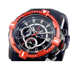 【限定セール!】 ドルチェメディオ DOLCE MEDIO 腕時計 クロノグラフ メンズ DM11209-IPBKRDN, ファイン パーツ ジャパン c96e5ce1