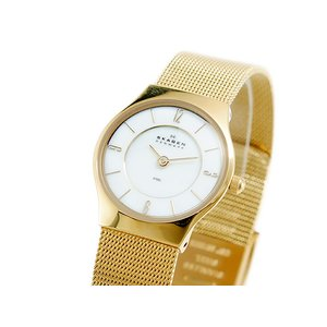最も優遇の スカーゲン SKAGEN クオーツ レディース レディース 腕時計 クオーツ 腕時計 時計 233XSGG【ラッピング無料】, 共榮水産:3f7284d9 --- spiritual.vertriebsrally.de