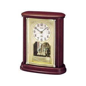 熱販売 セイコー SEIKO 電波時計 置き時計 BY227B, イワセグン 451bcf13