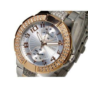 【在庫限り】 ゲス GUESS クオーツ レディース 腕時計 時計 W15072L2, Natural Cosmetics アンベリール b75fed68
