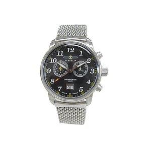 【大放出セール】 ツェッペリン グラーフ GRAF クォーツ メンズ クロノ グラーフ 腕時計 腕時計 7686M-2 クォーツ ブラック【送料無料】【送料無料】【ラッピング無料】, ピンクゴールド通販広場:4a3eae7d --- pyme.pe