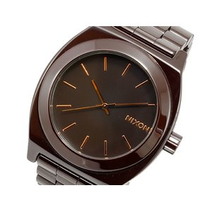 本物保証!  ニクソン NIXON CERAMIC タイムテラー クオーツ 腕時計 時計 CERAMIC A250-1192 ブラウン 腕時計 ニクソン【ラッピング無料】, Tops(トップス):5e62f065 --- lbmg.org