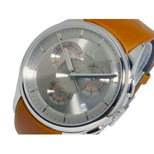 値引きする カルバン クライン CALVIN KLEIN クオーツ メンズ クロノ 腕時計 時計 K2A271.92【送料無料】, 丹羽郡 ff3755db
