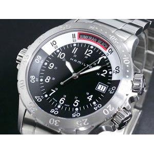 人気商品は HAMILTON ハミルトン カーキ ネイビー サブ 腕時計 H74511133, 花&雑貨フロレゾン 6c59c698