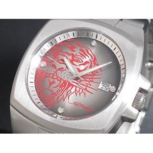 最新デザインの エドハーディー ED HARDY 腕時計 ED メンズ HARDY エドハーディー KS-SR, 柳井市:3a591a10 --- mikrotik.smkn1talaga.sch.id