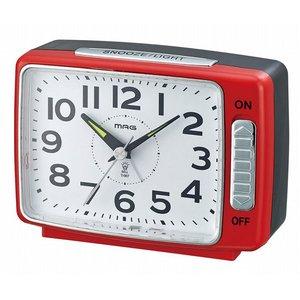 適切な価格 スタンダード目覚し時計 T-667 ベル之助 レッド/36点入り(き)【送料無料】, 下郷町 fd5488d5