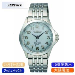 【 新品 】 【AUREOLE SW-482M-6】オレオール メンズ腕時計 SW-482M-6 ソーラー メンズ腕時計 アナログ表示 ソーラー 10気圧防水/10点入り(き)【AUREOLE】優れた機能性と洗練されたデザイン, ハーブギャラリー クローバー:11be99e3 --- bestbikeshots.de
