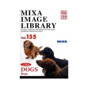 【当店限定販売】 ソースネクスト MIXA IMAGE LIBRARY Vol.155 DOGS 225830(), MERCURY STORE c963ff43