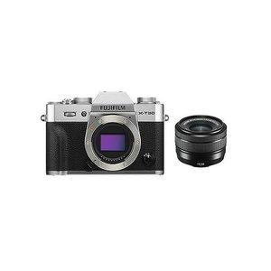 上品なスタイル 富士フイルム (X)FUJIFILM ミラーレスデジタルカメラ X-T30・レンズキット(2610万画素 XC15-45mm シルバー) X-T30LK-1545-S(), STUDIO STEEL 205f945c