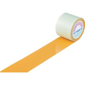 品多く 緑十字 ガードテープ(ラインテープ) 100mm幅×100m オレンジ 100mm幅×100m オレンジ 屋内用【送料無料】【送料無料 緑十字】緑十字 ガードテープ(ラインテープ) オレンジ 100mm幅×100m 屋内用, 千代田町:9430baea --- mashyaneh.org