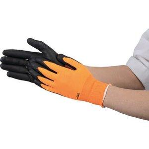 TRUSCO液晶対応すべり止め付ニトリル手袋オレンジM~TNG OM ~作業手袋・すべり止め背抜き手袋