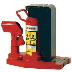 【最安値挑戦!】 イーグル 爪付油圧ジャッキ 1.2t G25, ガラス建材の高山 2f5ce3e9