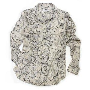 格安販売中 エキプモン パイソン柄×Wポケット とろみシャツ シルクブラウス とろみシャツ Q313-E231 fawn fawn Q313-E231 python, 二次会の虎:3878e8ca --- abizad.eu.org