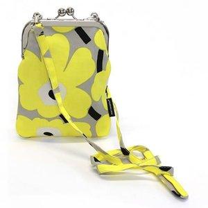 多様な マリメッコ RIMMI MINI UNIKKO MINI UNIKKO 040187 829 ミニウニッコ柄 beige/yellow/black ミニウニッコ柄 がま口 ミニ・ショルダーバッグ ナナメ掛け, 南海宝飾(卸):6f1654b2 --- cartblinds.com