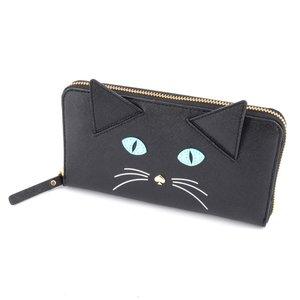 【公式】 ケイトスペード Kate Spade PWRU4428 Meow 098 ケイトスペード Blackmulti Cat'S Meow Cat Blackmulti Lacey キャッツ ミャウ 猫モチーフ 長財布【送料無料】, 華麗:69abac66 --- oraworld.co.uk