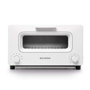 新しい到着 バルミューダ ザ トースター 1300W K01E-WS BALMUDA The Toester ホワイト トースター オーブントースター スチーム【送料無料】, 京都郡 66008522