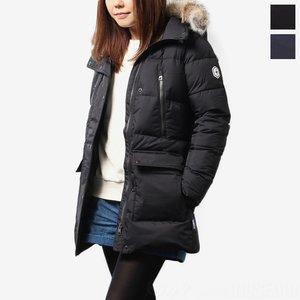 【18%OFF】 クォーツ Quartz Co. レディース ダウンコート Salome (with fur) Semi-slim fit 29720【送料無料】, 宗像市 38a49d8e