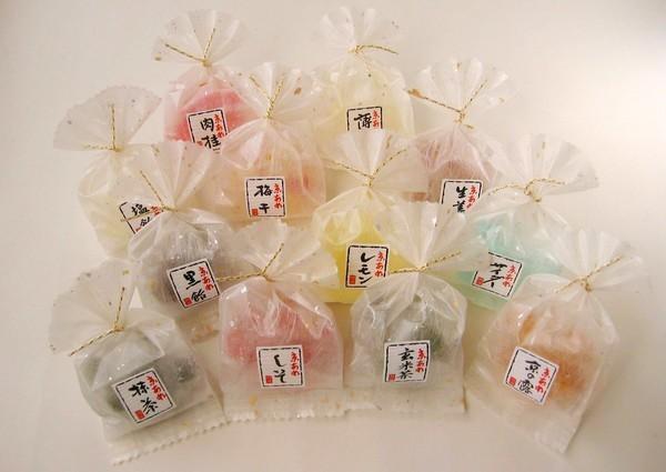彩り京飴12種類