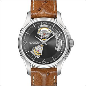 大人気 HAMILTON ハミルトン 腕時計 H32565585 メンズ Jazz Master ハミルトン Open Heart Heart H32565585 ジャズマスター オープンハート 自動巻き 新作 アナログ ファッション 海外モデル 日常生活防水, カモグン:c7321110 --- mashyaneh.org