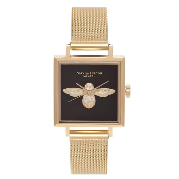 【並行輸入品】OLIVIA BURTON オリビアバートン 腕時計 OB16AM90 レディース 3D Bee ビー クオーツ