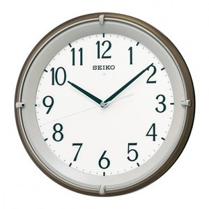 格安即決 SEIKO セイコー クロック KX203B 掛時計 電波時計, エナシ 5b3de1b9