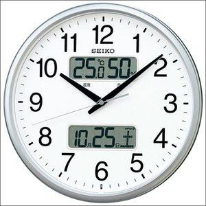 『4年保証』 SEIKO セイコー クロック KX235S 掛時計 電波 デジアナ, シラカワムラ 7c1698eb