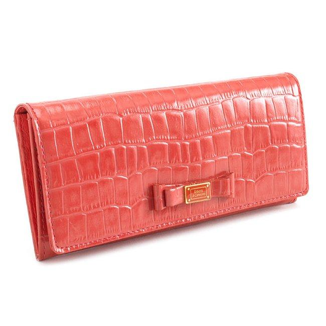 wholesale dealer 9efef a7fb0 ロベルタディカメリーノ 財布 長財布 レッド(ややピンクがかったレッドです。) Roberta di Camerino rbi546-20 レディース  婦人