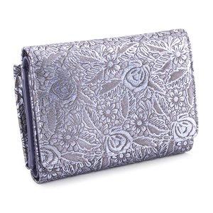 【限定製作】 展示品箱なし キャサリンハムネット 財布 三つ折り財布 L字ファスナー 紫(パープル) KATHARINE HAMNETT LONDON khp354-34 レディース 婦人, 岩瀬郡 7a0fd0d1
