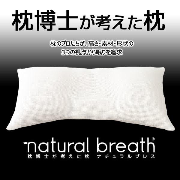 ナチュラルブレス 枕博士が考えた枕 レギュラータイプ