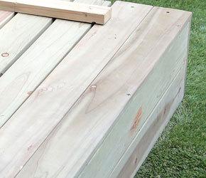 天然木杉材