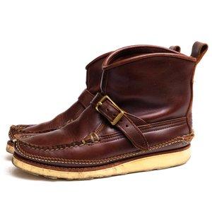 人気激安 YUKETEN ユケテン ワークブーツ Short pull on Boots モカシン, デイジードッグ 50a79bb5