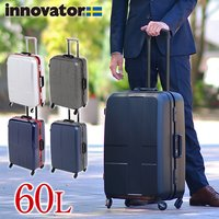 ac996447c3 スーツケース キャリー ハード 旅行!イノベーター innovator 60L 中型 5泊~6泊程度 .