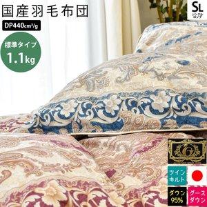 人気が高い 【送料無料】羽毛布団 シングル 150×210cm 「Feodora」 フェオドラ ウクライナ産 シルバーグースダウン95% ツインキルト プレミアムゴールドラベル付き 日本製, aquagarage(アクアガレージ) 0e683a17