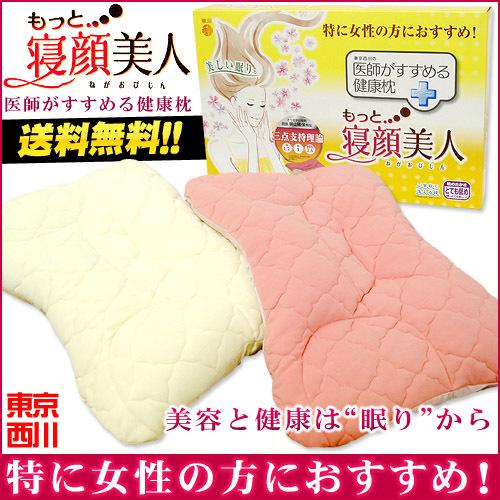 【送料無料】東京西川 枕 もっと寝顔美人 ウォッシャブル 洗える枕 53×38cm〔M-EIA655920〕