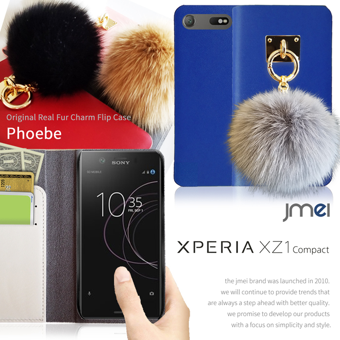 55ba2234ea Xperia SO-02K XZ1 compact ファーケース 手 - JMEI - 日本露天