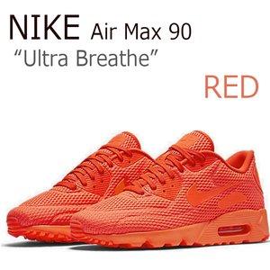 正規代理店 【送料無料】NIKE AIR MAX 90/Ultra Breathe/Red【ナイキ】【エアマックス】【725222-800】 シューズ, レンタルコスチュームのウエヤマ d8cb7597