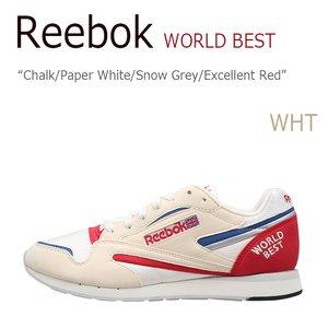 【超特価sale開催!】 【送料無料】Reebok World【リーボック】【V69000】 Best Chalk World Chalk/Paper/Paper White/Snow Grey/Excellent Red【リーボック】【V69000】 シューズ Reebok/リーボック/World Best/Chalk/Paper White/Snow Grey/Excellent Red/V69000, 人気絶頂:69167da0 --- fukuoka-heisei.gr.jp
