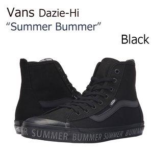 保障できる 【送料無料】Vans Dazie-Hi Black【バンズ Black】【Summer Bummer】 Dazie-Hi【レディース】【VN00018NIK1】 シューズ Vans/バンズ/Dazie-Hi/Black/SummerBummer/ブラック, 古着のオーバーフロークロージング:e1c91541 --- blog.buypower.ng